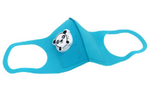 Load image into Gallery viewer, Reusable Children's Mask w/ Panda Respirator - 3 Colors Available