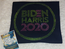 Load image into Gallery viewer, Biden/Harris 2020 Rhinestone Shirt