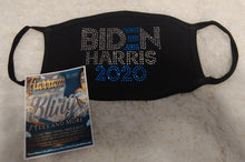 Load image into Gallery viewer, Biden/Harris 2020 Rhinestone Mask