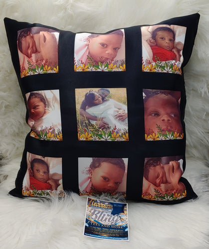 Custom 9 Panel Pillow Cover