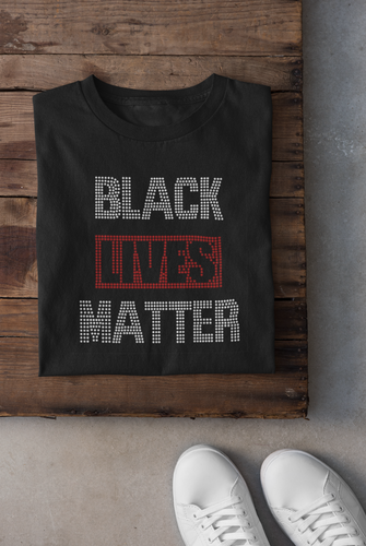 Rhinestone Black Lives Matter Shirt