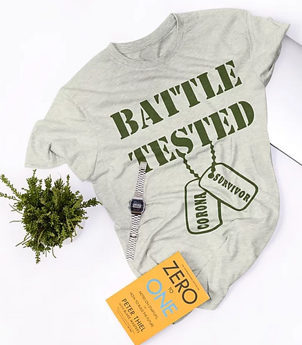 Battle Tested Corona Survivor T-Shirt