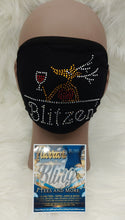 Load image into Gallery viewer, Blitzen Rhinestone Mask