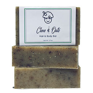 Clove & Oats Hair and Body Bar