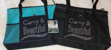 Load image into Gallery viewer, Curvy and Beautiful Tote - 7 Colors To Choose From!