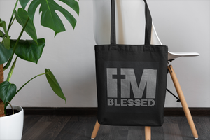I'm Blessed Tote - Multiple Colors