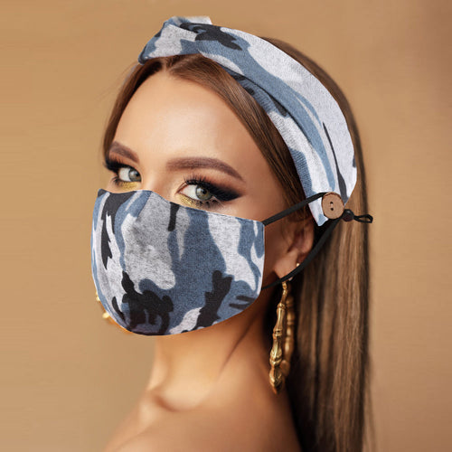 Mask Headband Combo - Multiple Colors Available!