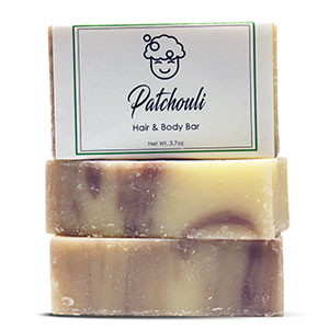 Patchouli Hair and Body Bar