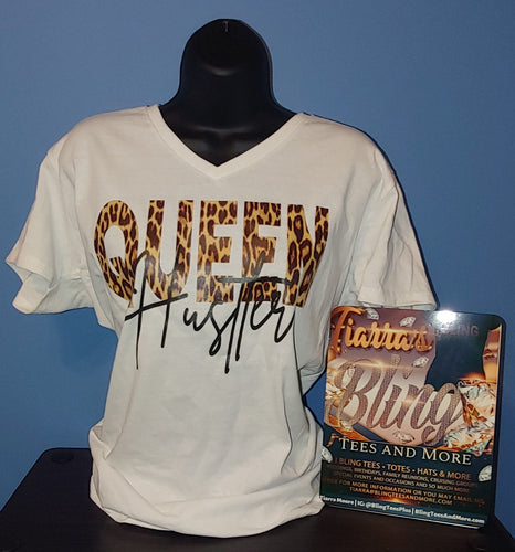 Queen Hustler Shirt with Optional Matching Mask