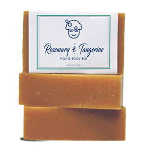Rosemary & Tangerine Hair and Body Bar