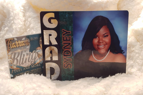 Custom Grad Picture Frame