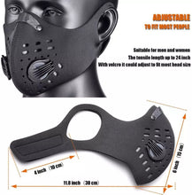 Load image into Gallery viewer, Adult Reusable Neoprene Face Mask