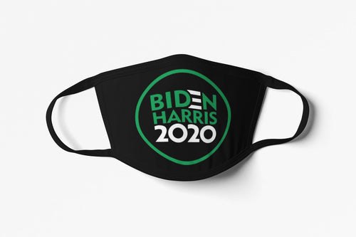 Biden/Harris 2020 Face Mask (Circular Design)