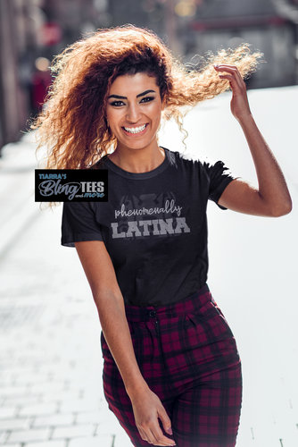 Phenomenally Latina Rhinestone Shirt