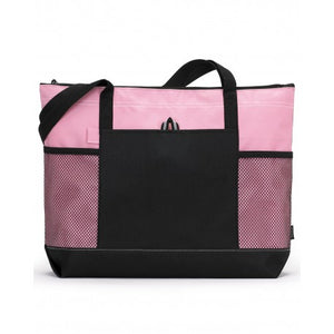 Rhinestone Breast Cancer Survivor with Wings Tote - Multiple Colors Available