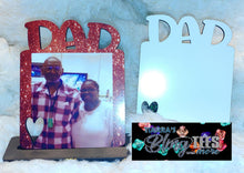 Load image into Gallery viewer, Custom Dad Picture Frames