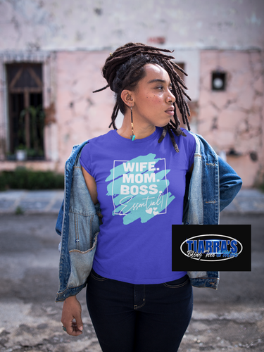 Wife Mom Boss Essential T-Shirt