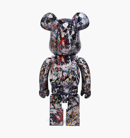 BE@RBRICK by Jackson Pollock Studio Bearbrick 1000% Limited
