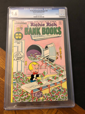 Richie Rich Bank Books Comic