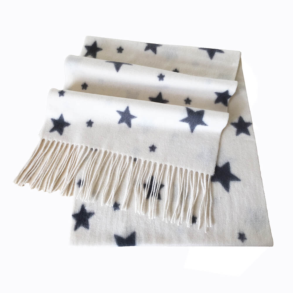 star cashmere scarf women