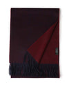women's cashmere scarf in wine red