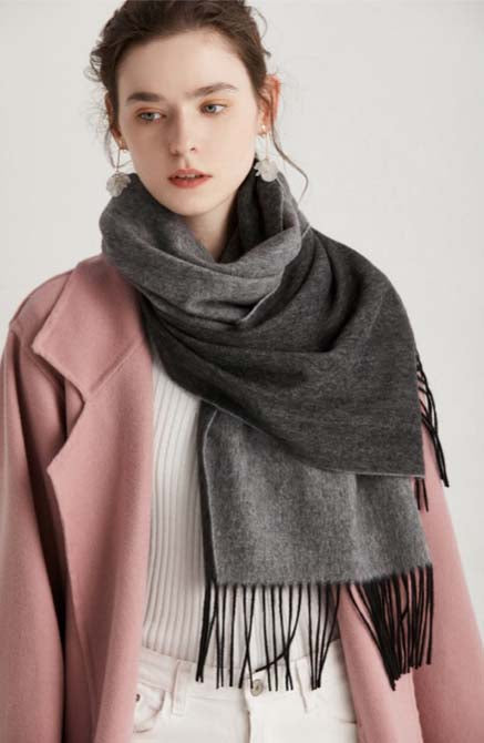 womens extra long winter scarves