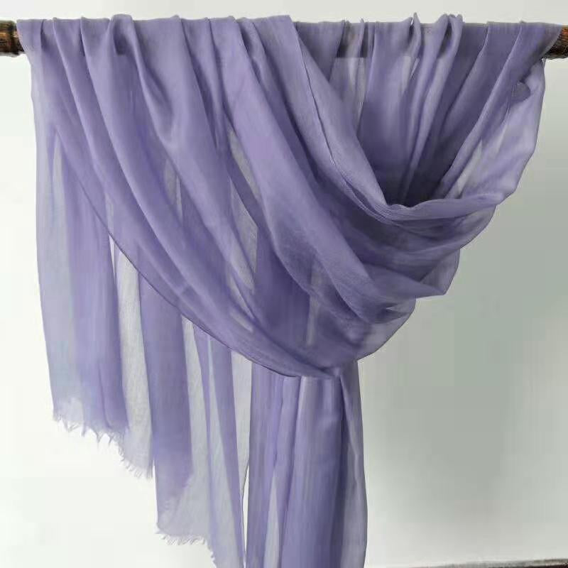 purple lightweight  scarf