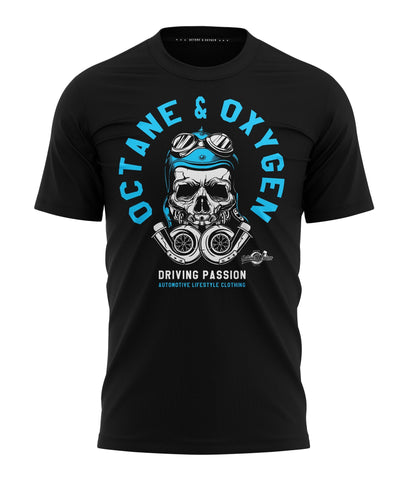 "T-Shirt ""Passion"" Schwarz"
