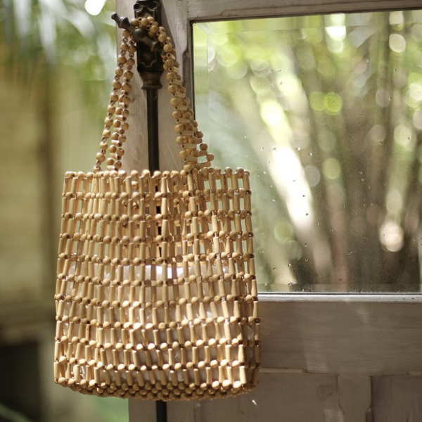 Bamboo Beads Tote