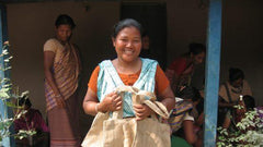 Corr the Jute Works Bangladesh make totes for The Little Market