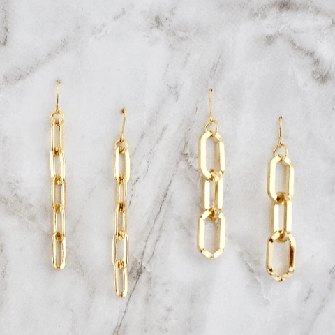 Gold Chain Earrings - Redemption Market