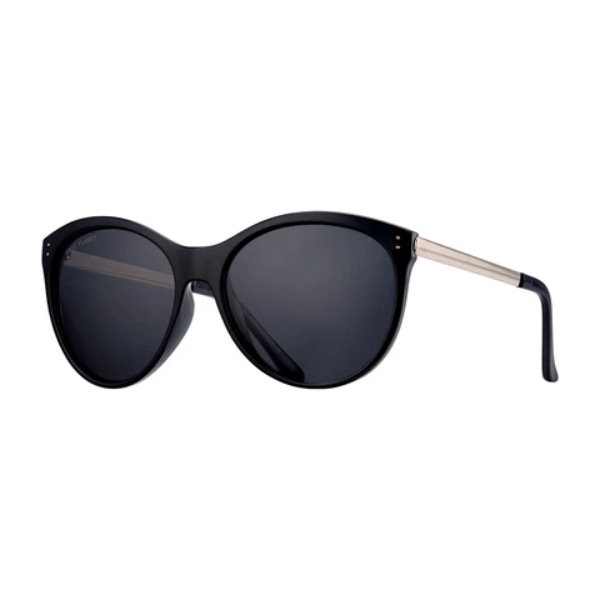 Onyx + Gold Polarized Sunglasses
