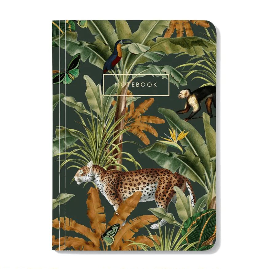Mighty Jungle Notebook - Redemption Market