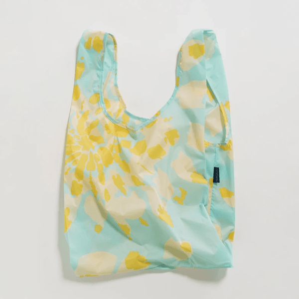 Reusable Baggu Shopping Bag- Tie Dye Aqua - Redemption Market