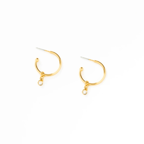 Gem Hoop Earrings - Redemption Market