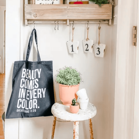 Beauty Comes in Every Color Tote - Redemption Market