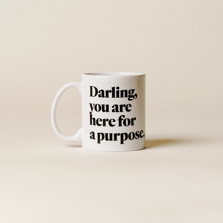 Here for a Purpose Mug