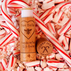 Candy Cane Handcrafted Lip Balm