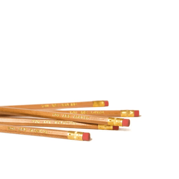 The Ultimate Pencil Set- You Are Beautiful