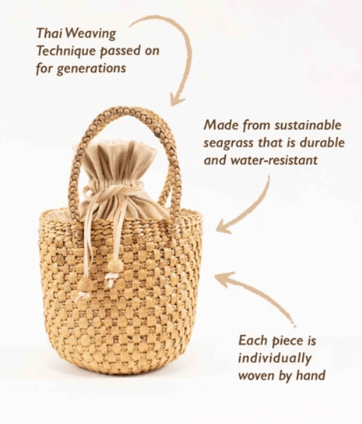 Camryn Woven Tote