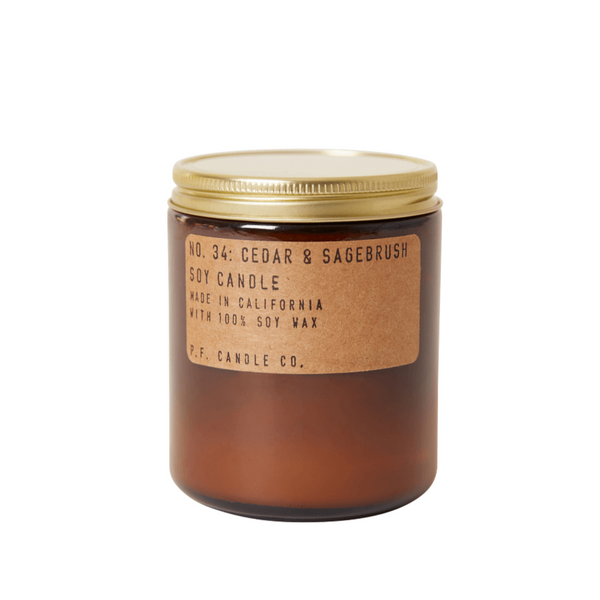 Cedar and Sagebrush Soy Candle