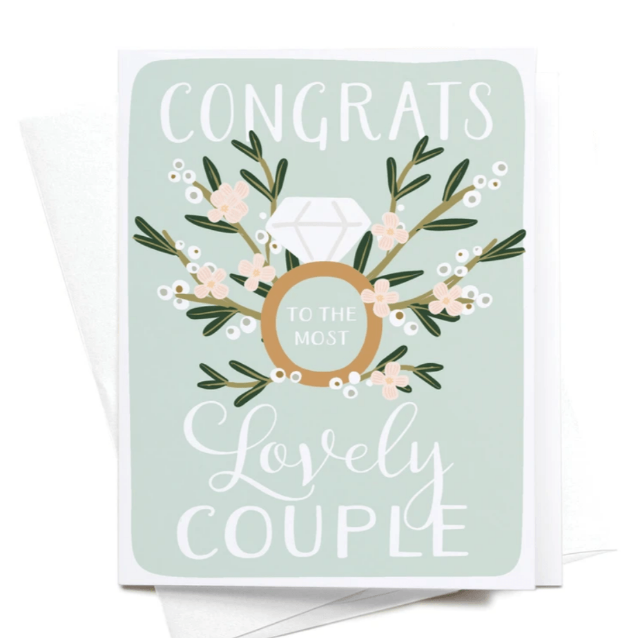 Congrats to the Most Lovely Couple Card