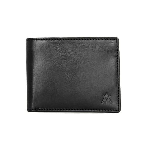 Black Eco-Leather Wallet - Elevate People - Redemption Market