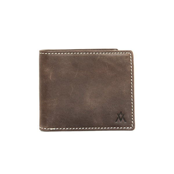 Brown Eco-Leather Wallet - Elevate People - Redemption Market