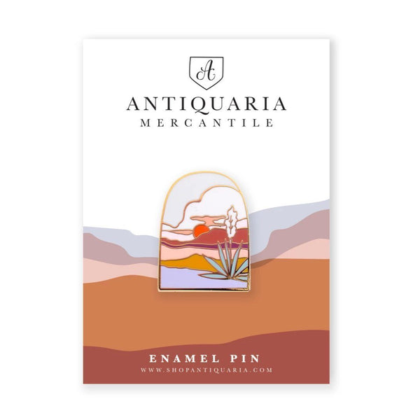 Agave Sunset Enamel Pin - Redemption Market