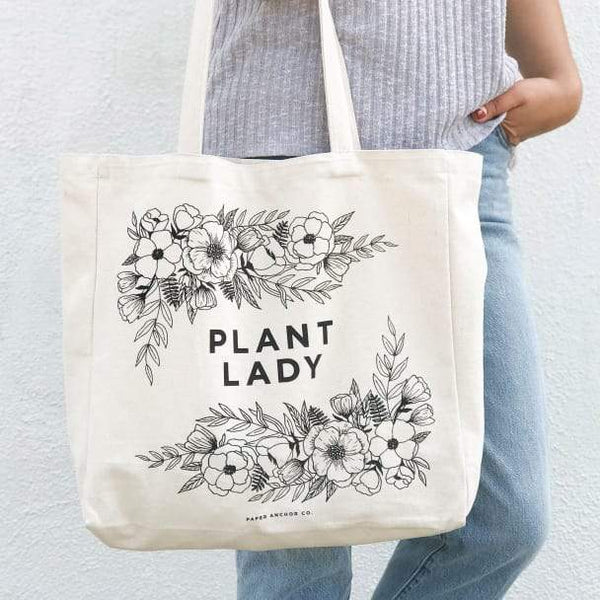 Plant Lady Tote Bag - Redemption Market