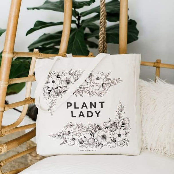 Plant Lady tote bag by Paper Anchor Co