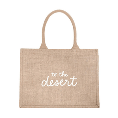 to the desert eco shopping bag