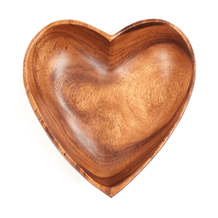 Heart Bowls- Sustainable Acacia