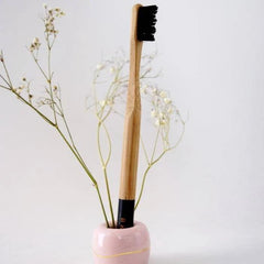 Sustainable Toothbrush + Ceramic Holder - Redemption Market